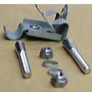 Tc Rail Kit, Taper Pin Fixing Kit For Moulded Tc Rail Connection, Includes Flange Clip