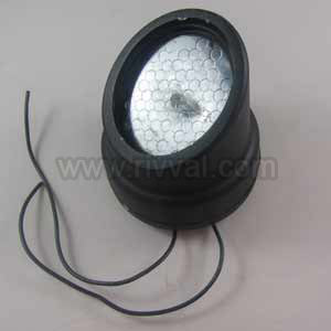"Led Module With Flying Leads, White, Ground ""Includes Hood"""