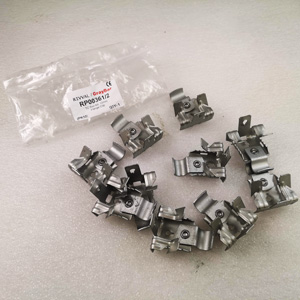 Tc Rail Kit,12Mm Fastway Flange Clip (Pack 10)