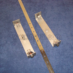 Earth Busbar Kit Complete With Stainless Steel Brackets