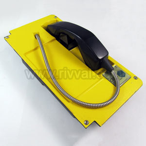 Level Crossing Telephone, Without Enclosure, Yellow