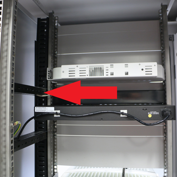 Upper Crossbar Front To Rear Lhf Gsmr Case 25X50 ( CAN BE EITHER DUAL OR SINGLE BRACKET CABINET)