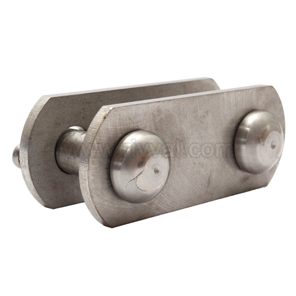 Two-Pin Clevis Link With Bolts 16