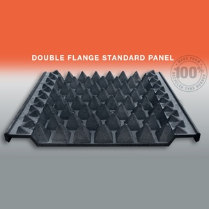 Double Flange Anti-Trespass Panel