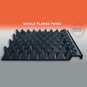 Single Flange Anti-Tresspass Panel