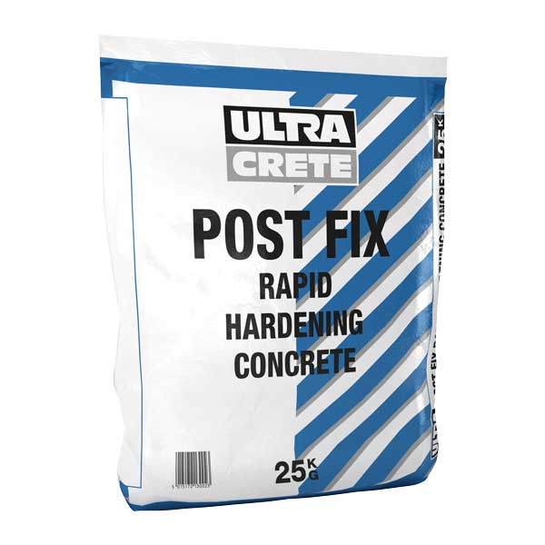 Post Fix Rapid Hardening Post Fix Concrete 25Kg Bag
