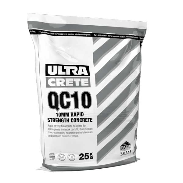 Qc10 Fast Set Rapid Strength Concrete