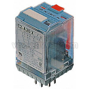 8 Pin Dpco Plug-In Relay,10A 24Vac Coil