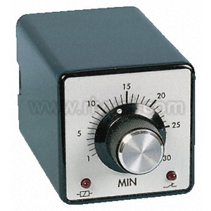 Dpdt Std On Delay Timer,0.5-20Sec 240Vac