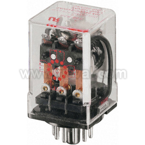 8 Pin Dpco Plug-In Relay,10A 115Vac Coil